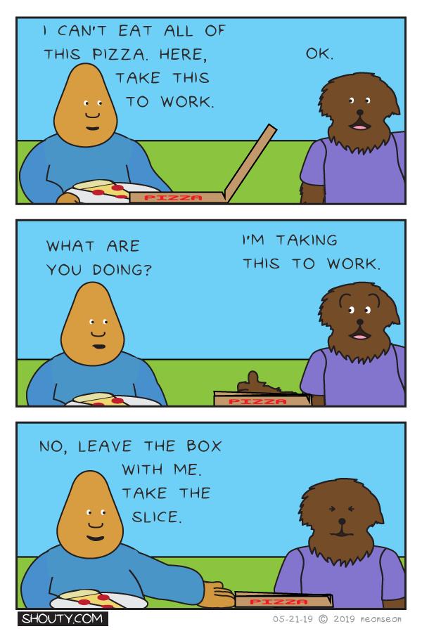 Stomach Size Comic by Shouty
