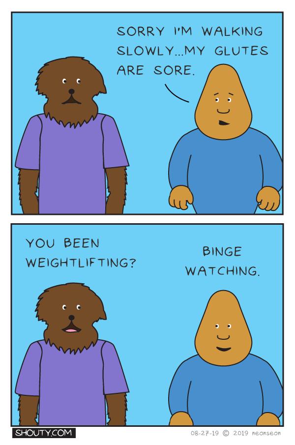 Sore Comic by Shouty