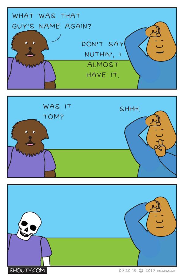 Remembering Comic By Shouty