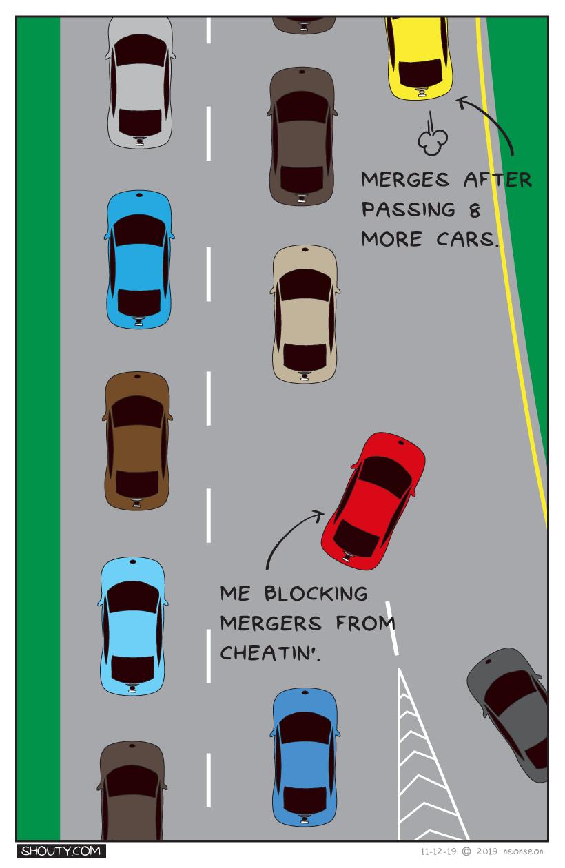 Merging Comic By Shouty