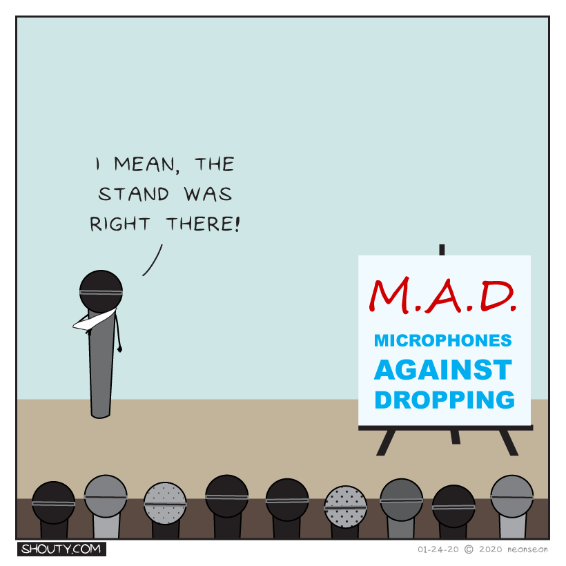 M.A.D. Comic by Shouty
