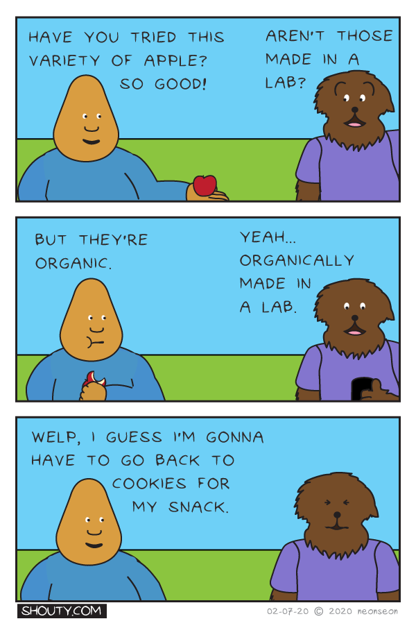 Apple Comic by Shouty