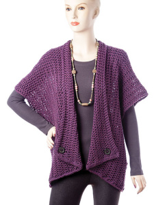 Double Crochet Cardigan @ Annie's