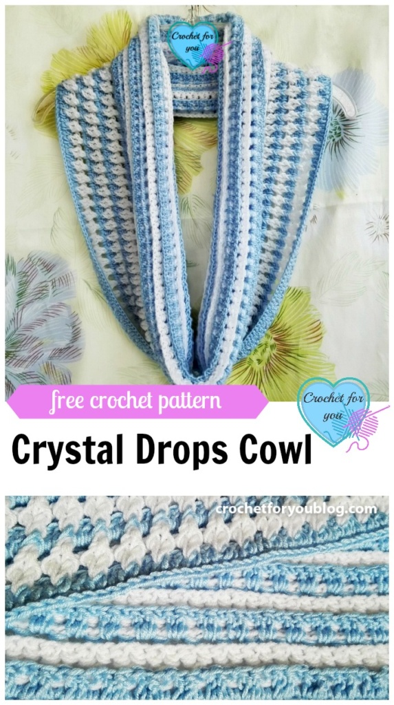 Crystal Drops Cowl - free pattern