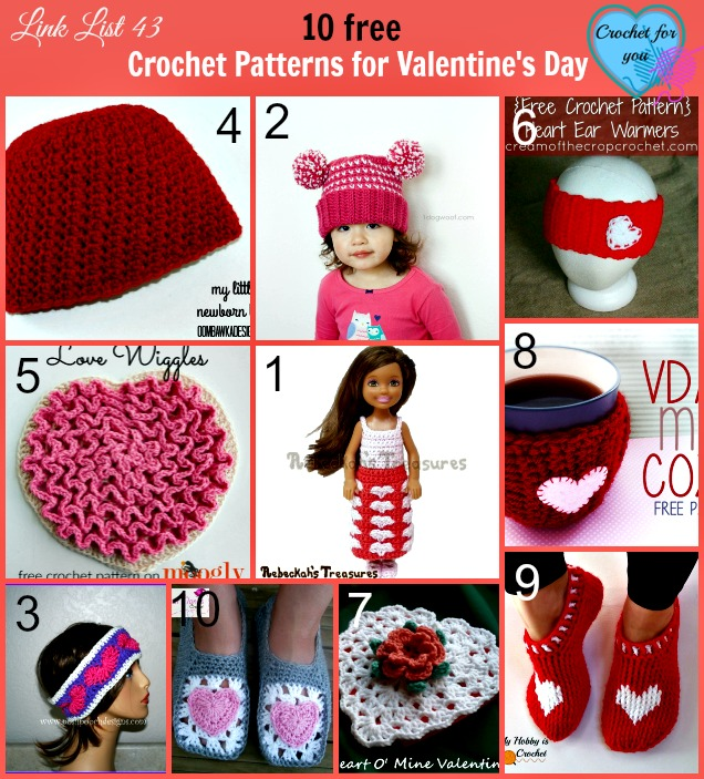 Crochet Patterns for Valentine's Day