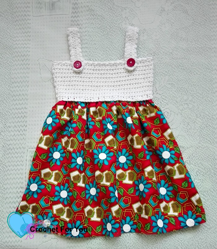 Simple Summertime Baby Sundress Free Crochet Patter