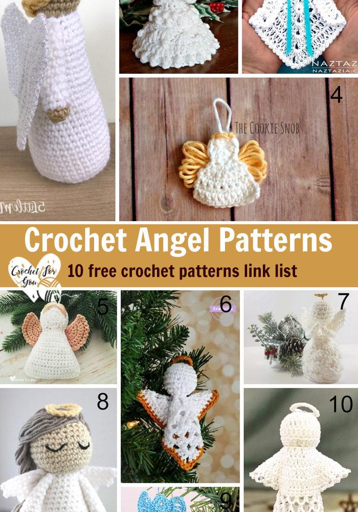 Crochet Angel Patterns - 10 free crochet patterns link list