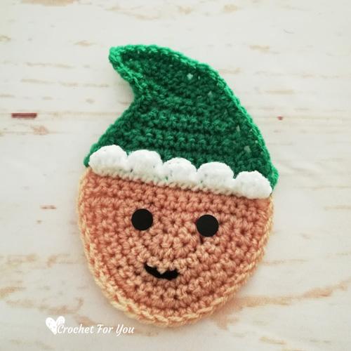 Crochet Elf Christmas Ornament Free Pattern