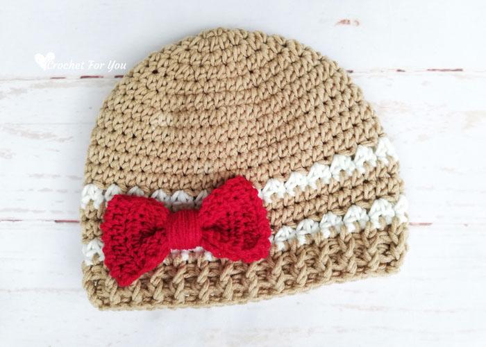 Modern Gingerbread Hat