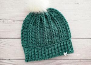 Crochet Yara Beanie - Teen & Adult sizes