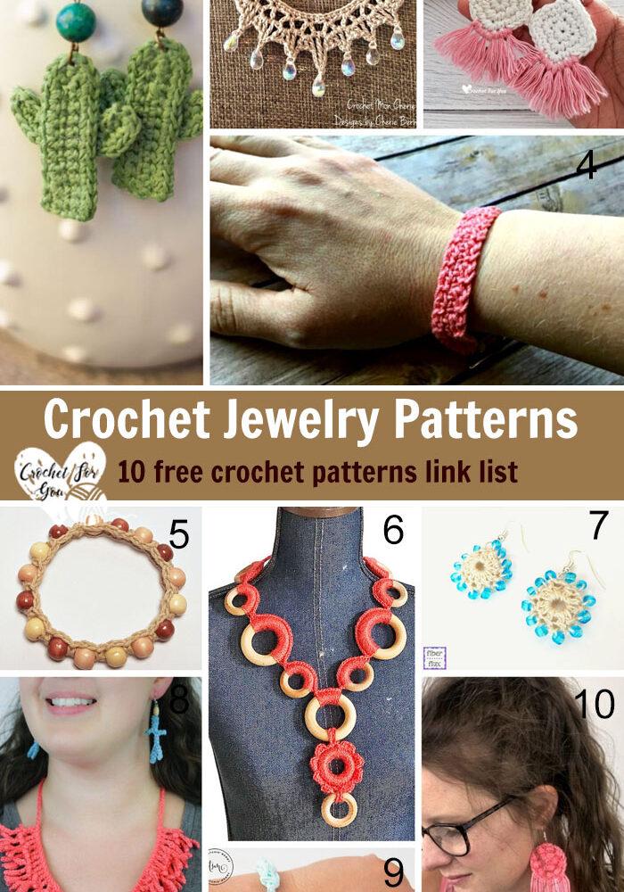 Crochet Jewelry Free Patterns