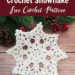 Eight-Point Crochet Snowflake