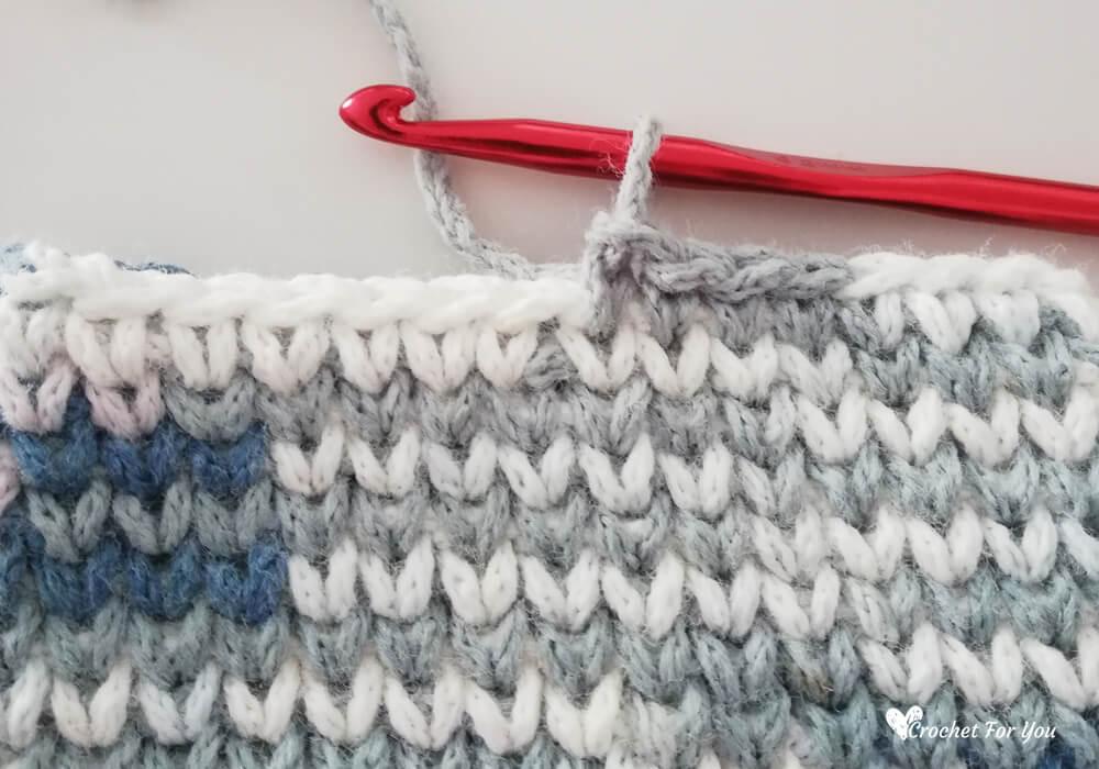 Crochet Waistcoat Stitch