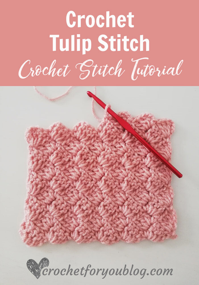 Crochet tulip Stitch