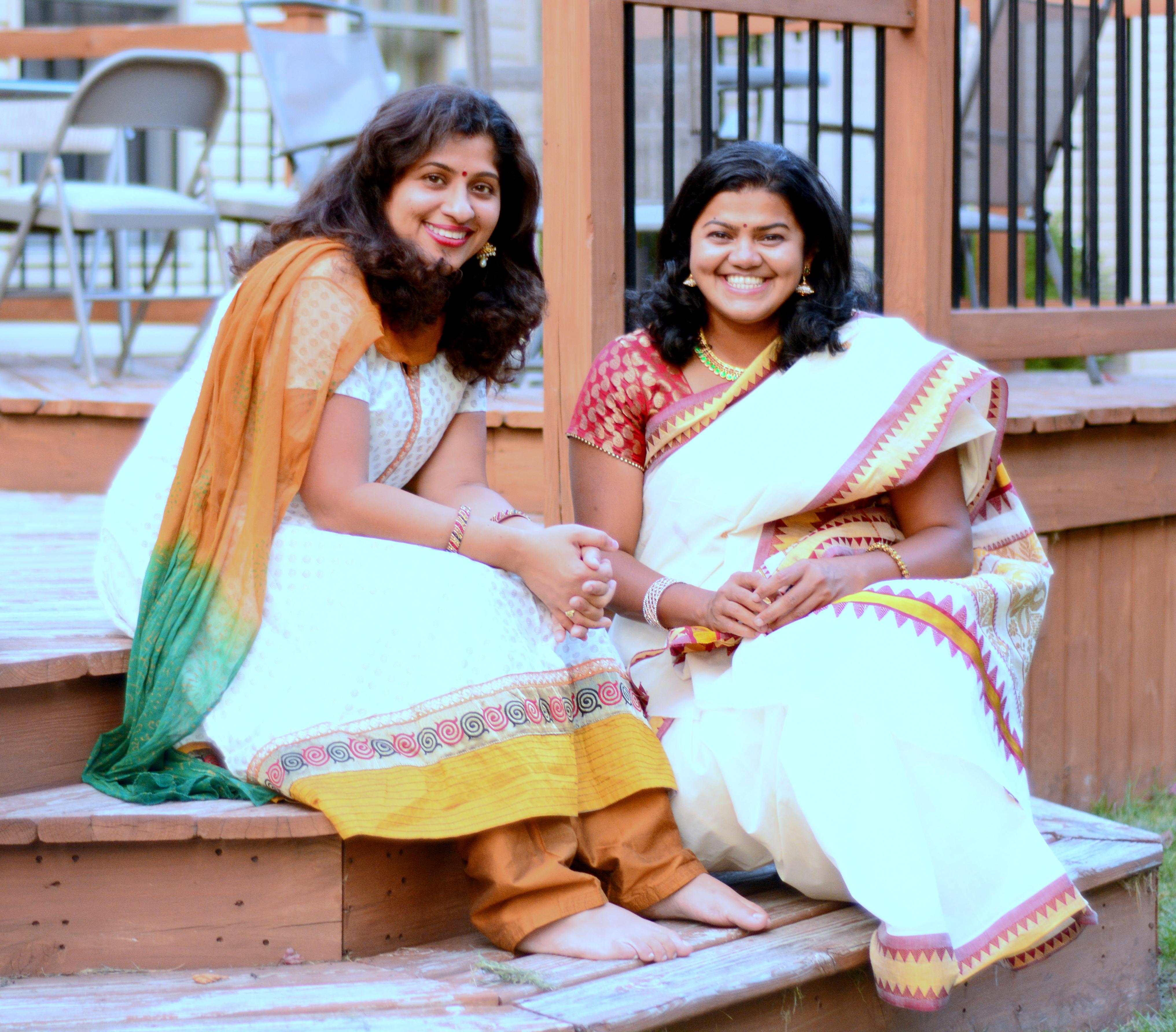 Namitha and Lakshmy