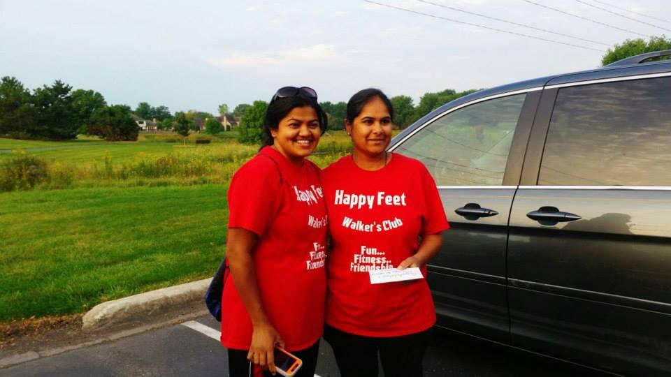 Komal walks 69 miles!