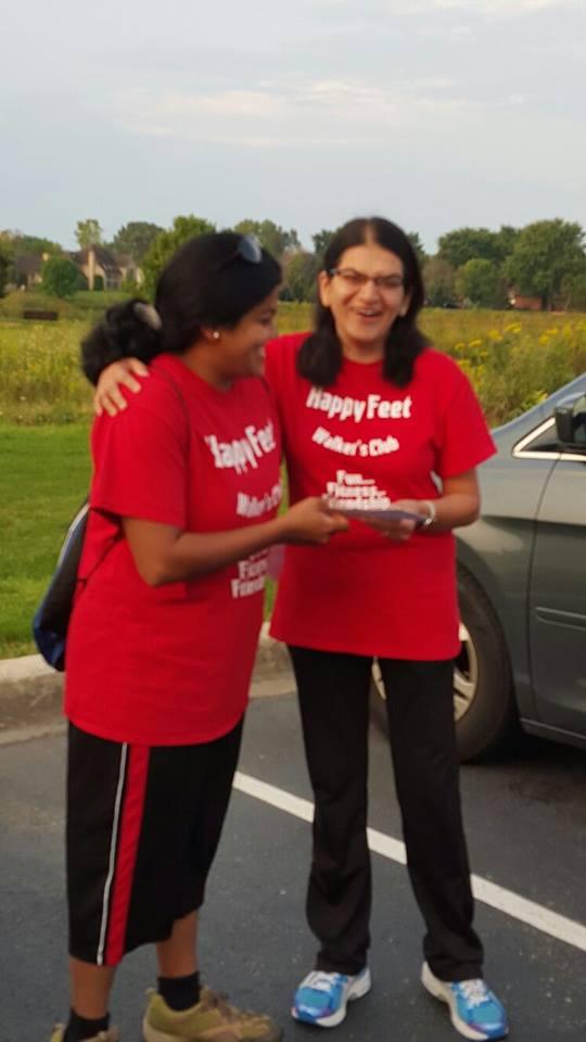 Dr.Lawande walks 80 miles in less than 2 weeks!