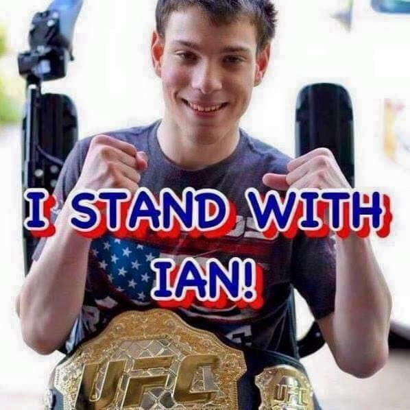 We Stand with Ian