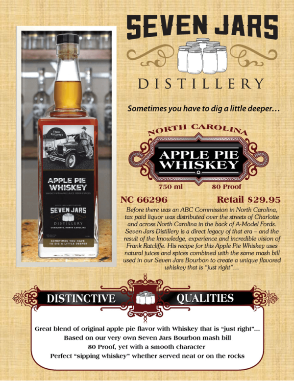 Seven Jars Apple Pie Whiskey