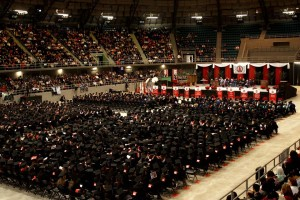 UIW celebrates the Fall 2014 Commencement at a ceremony held on Dec. 7 in Freeman Coliseum.