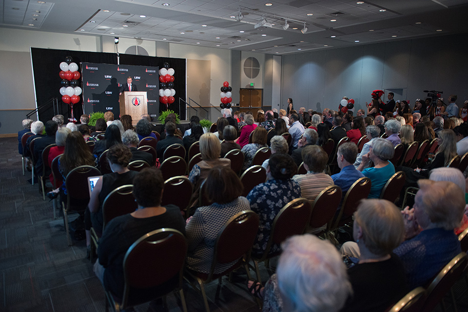 The University of the Incarnate Word welcomes its 10th president, Dr. Thomas Evans