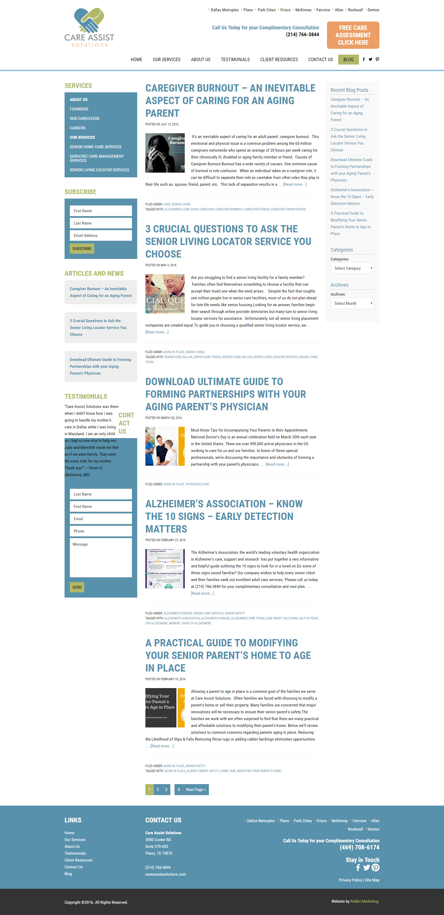 Care Assist Resources