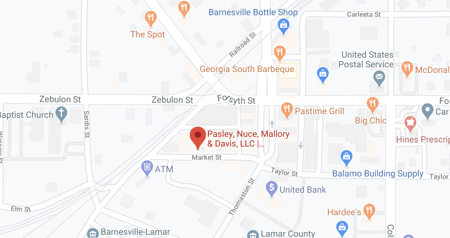 Map to Barnesville Office