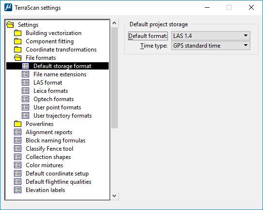 Default Project Storage