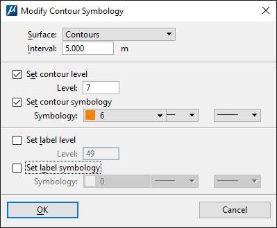 Modify Existing Contour Symbology