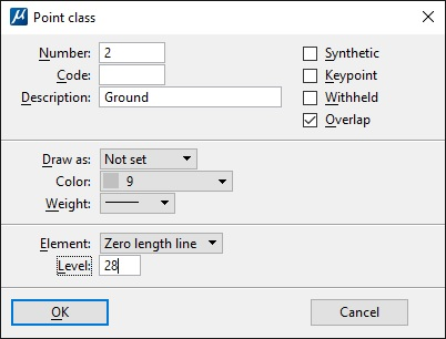 Define Classes - Set Flags