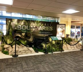 WWII Display in new orleans airport
