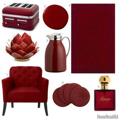 red-accesories