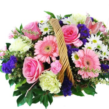Flower Basket Arrangements