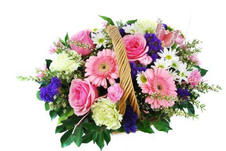 Noosaville Flower Basket Arrangement