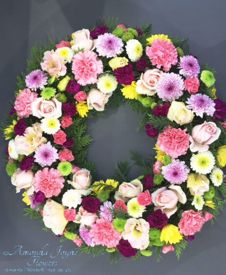 Hope Funeral Wreath