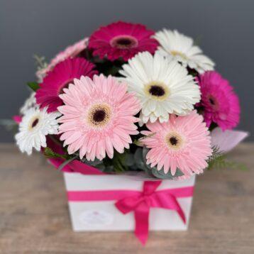 Tickled Pink Gerbera Flower Arrangement