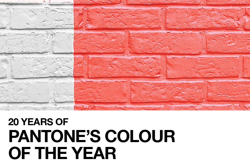 20 Years of Pantone's Colour of the Year