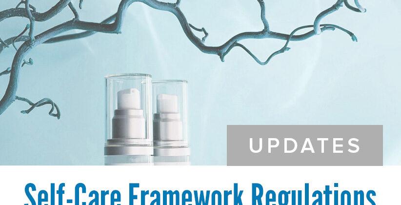 Self-Care Framework Updates