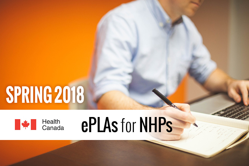 Watch for Updates to the Health Canada ePLA in the Spring of 2018!