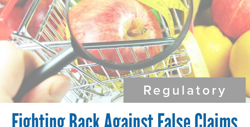 Fighting back against false claims