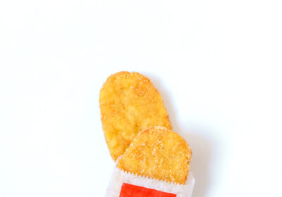 photo of salty hash browns
