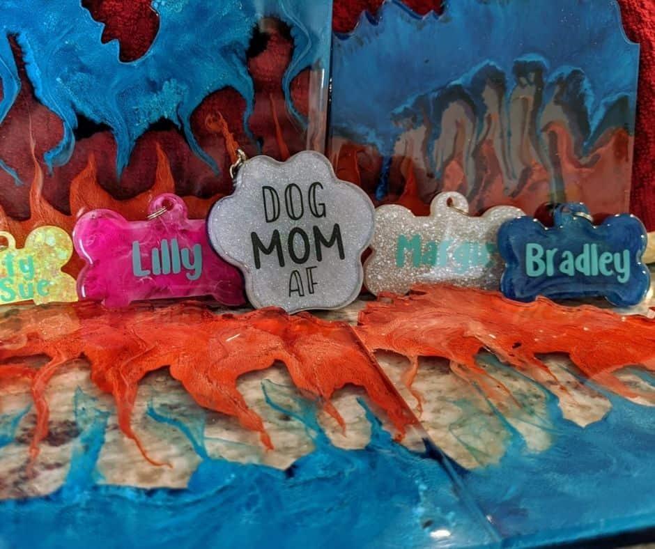 The Blakely Farmhouse dog tags custom dog tags in Houston