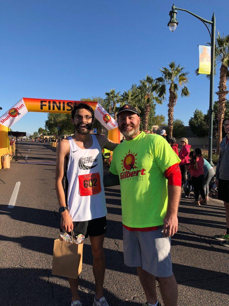 2017 Gilbert Half Marathon Winner