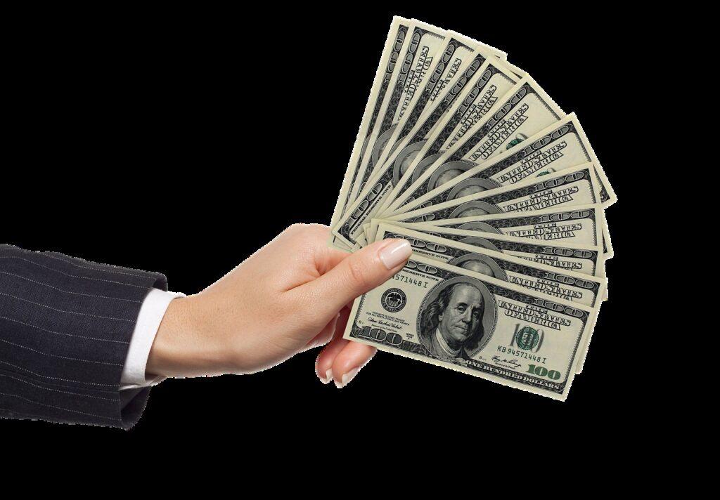 hand, money, bills