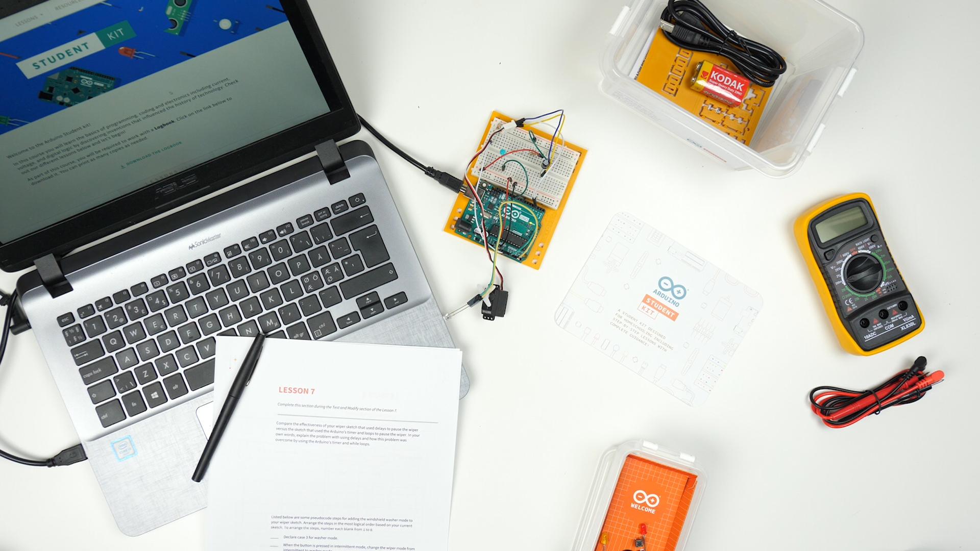 arduino student_kit_introduction