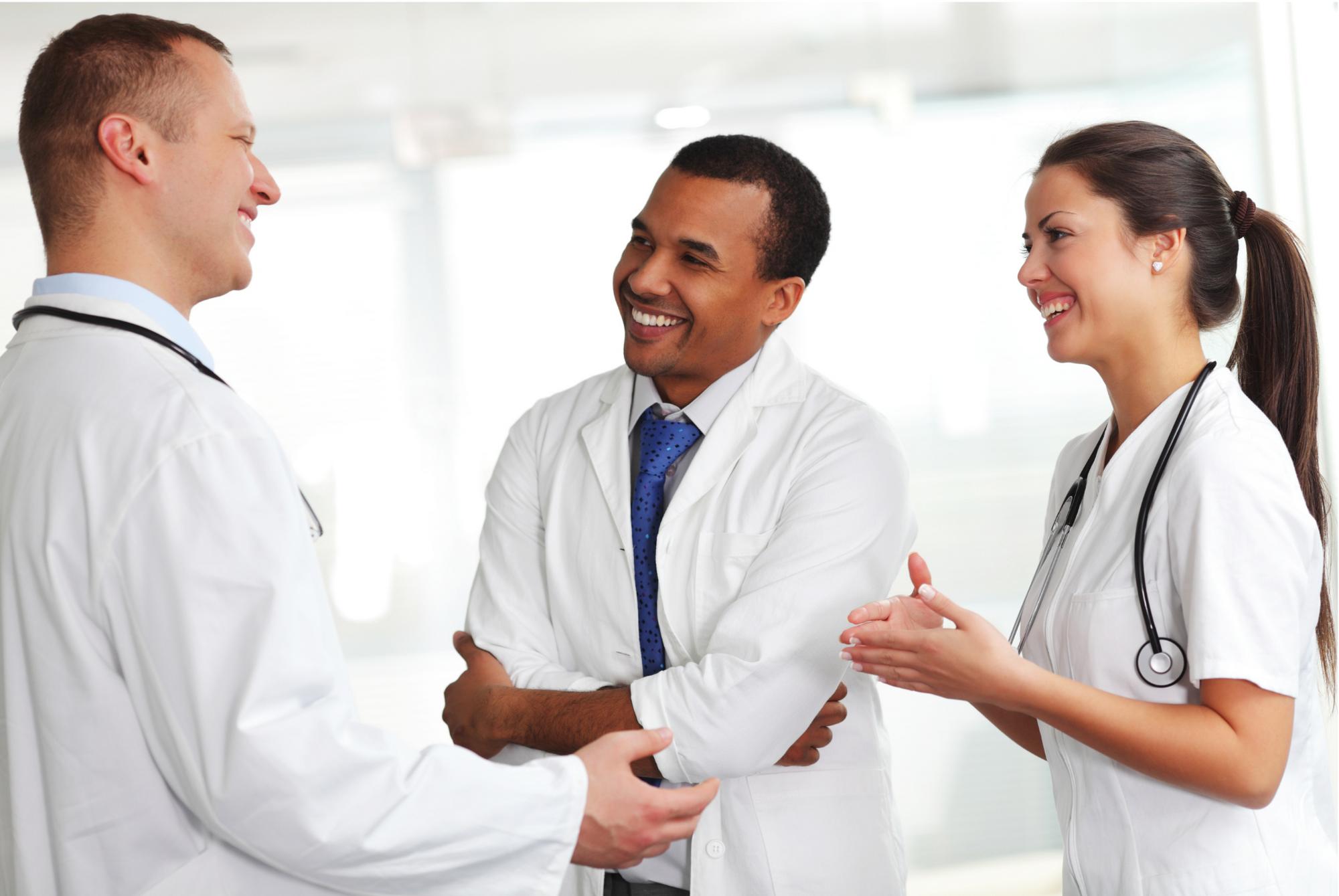 medical professionals collaboration