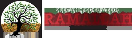 American Federation of Ramallah, Palestine Logo