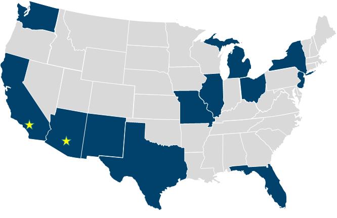 ONRAD's Core States