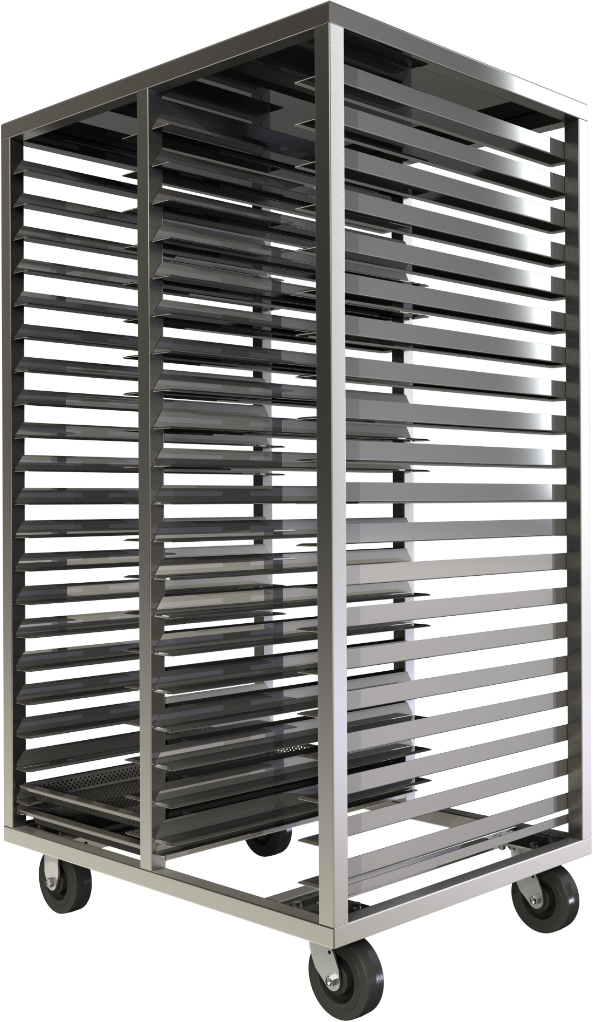 Cannabis drying rack, stainless steel