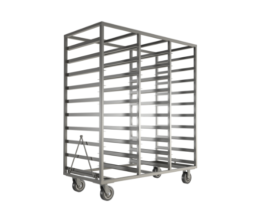 Canncas Drying Rack, three-compartment